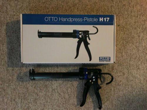 Original OTTO CHEMIE Handpress-Pistole H 17 für Silikon Kartuschen Sonderpreis