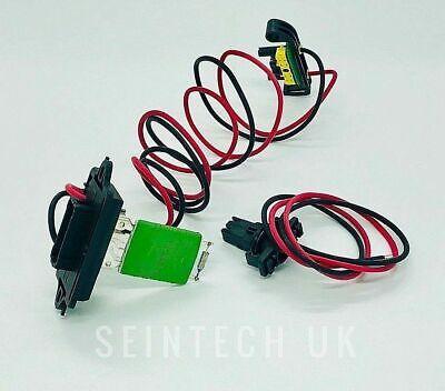 Heater Blower Fan Motor Resistor For Renault Clio MK3 Modus 1.2 16V 7701209803