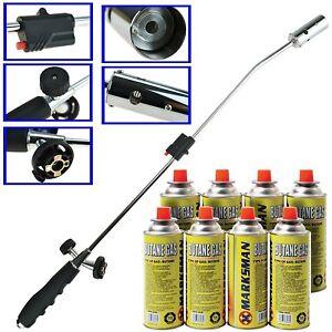Garden-Torch-Weed-Wand-Blowtorch-Burner-Killer-Blaster-amp-Butane-Gas-MULTILISTING