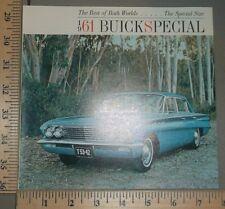 1961 Buick Special Brochure Original