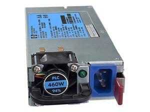 HP 503296-B21 511804-001 460W HE HOT PLUG POWER SUPPLY FOR ML310 ML350 G8