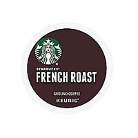 Starbucks French Roast Dark Coffee High Quality Beans 3 Packs Totaling 72 K-cups