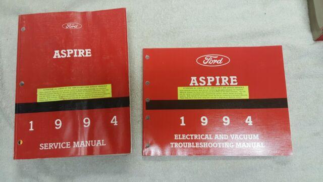 1994 Ford Aspire Service Shop Repair Workshop Manual Set
