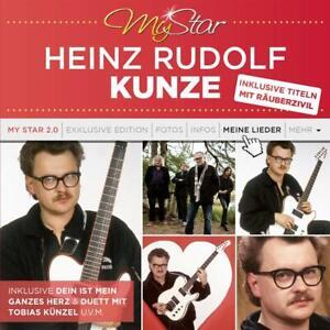 CD-Heinz-Rudolf-Kunze-My-Star-Best-Of-17-Hits-Mit-Leib-und-Seele-Raeuberzivil-Neu