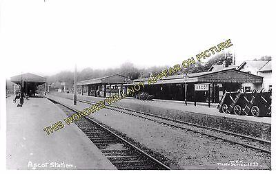 Bracknell Ascot /& Sunninghill Railway Station Photo Sunningdale L/&SWR 6