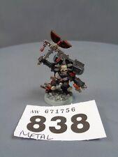 Warhammer Space Marines Blood Angel Chaplain Lemartes 838
