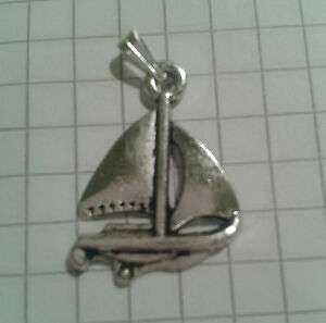 TIBETAN SILVER PENDANT LIGHT SAILING BOAT  ON 18034 SILVER PLT CHAIN NECKLACE - PORTSMOUTH, Hampshire, United Kingdom - TIBETAN SILVER PENDANT LIGHT SAILING BOAT  ON 18034 SILVER PLT CHAIN NECKLACE - PORTSMOUTH, Hampshire, United Kingdom