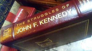The Struggles of John F. Kennedy (Vol 1) Herbert S. Parmet Easton Press Leather