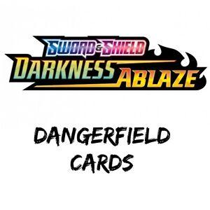 Holo Vmax And FULL ART Cards Pokemon Darkness Ablaze Reverse Holo V