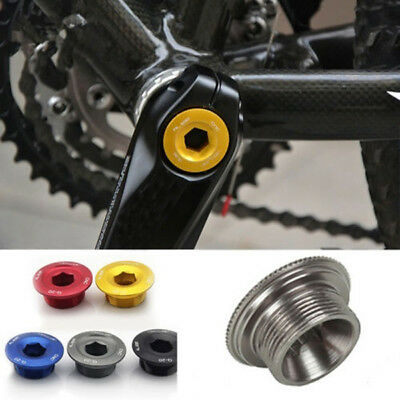 Aluminum Alloy Crankset Screw Bicycle Crank Arm Bolt for MTB Road Bike Bicycle