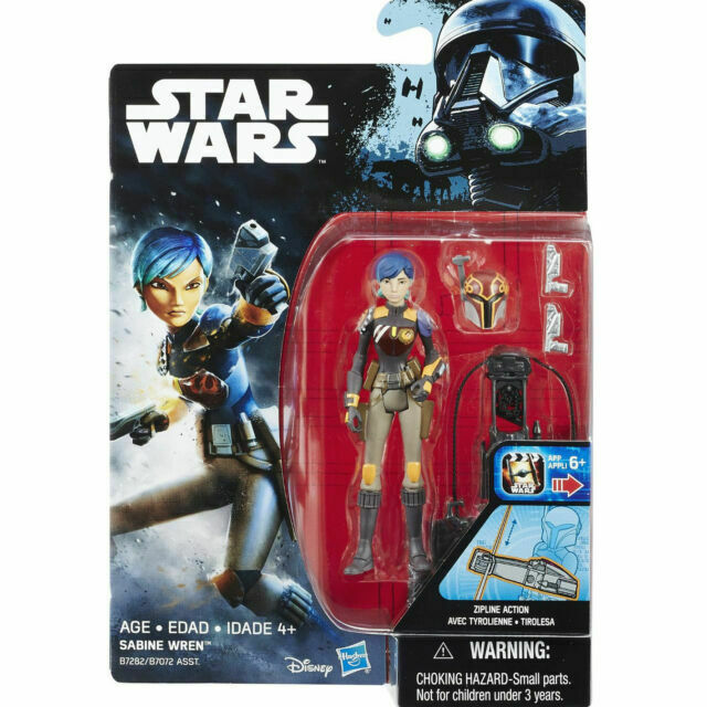 "Star Wars Rebels /& Rogue Action Figures 3.75/"" /& accessoires-Disney Hasbro"