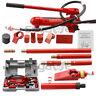 4 Ton Hydraulic Auto Body Frame Tools Jack Ram Shop Set Porta Power Repair Kit