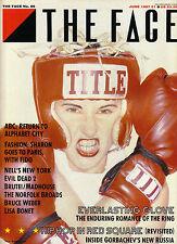 THE FACE #86 June 1987 TOTTY WATTS Sam Raimi MARTIN FRY Laraine Ashton @EXCELLT@