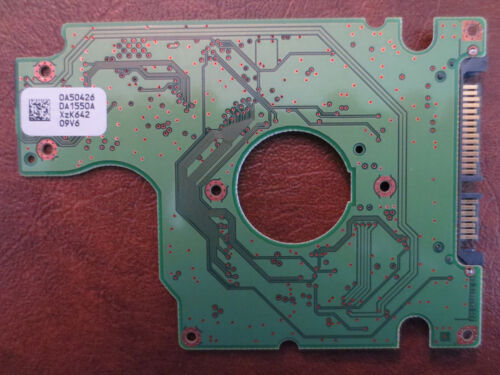 80gb Sata PCB Hitachi HTS541680J9SA00 MLC:DA1587 PN:0A50837 0A50426 DA1550A