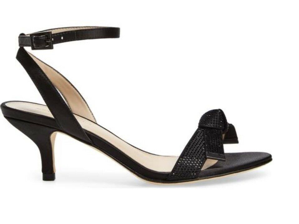 PELLE MODA Alexia Satin Dress Sandale.