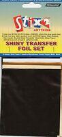 SHINY METALLIC TRANSFER FOIL SETS ASSORTED SCRAPBOOKING CARDMAKING CRAFT STIX 2