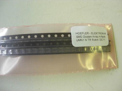 umn1 n TR rohm 40 St SMD diodos-matriz 4 veces e1064 !!!