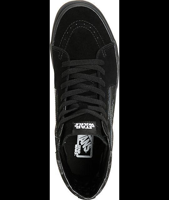VANS x STAR WARS Sk8-Hi Sk8-Hi Sk8-Hi Mens shoes (NEW) Darth Vader Storm DARK SIDE   ALL SIZES e1a388