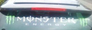 vinyl van stickers rear window sunstrip logo graphics decals racing rally car vw
