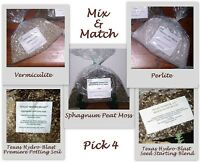Mix & Match: Peat Moss/vermiculite/perlite/soil Or Seed St. Psnature Amendments