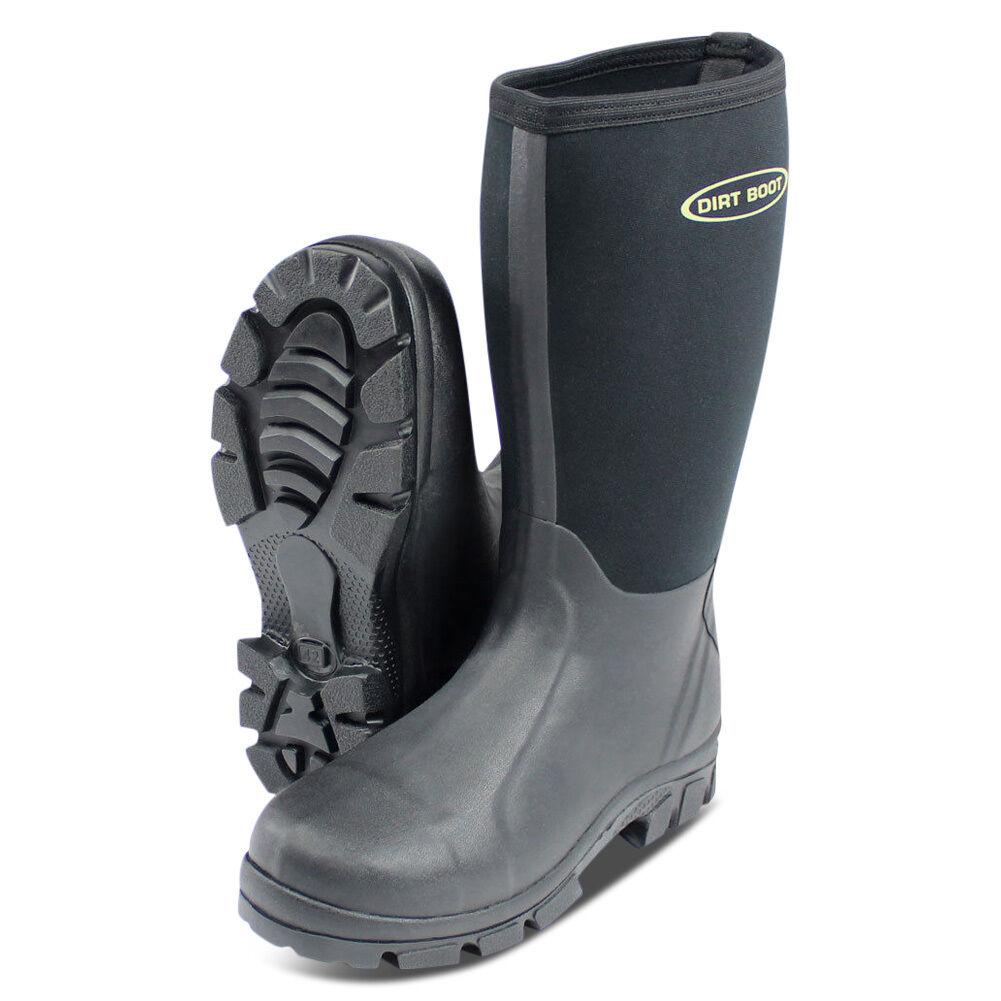 Dirt Field Boot® Neoprene Wellington Muck Field Dirt Fishing Stiefel® Wellies 82c343