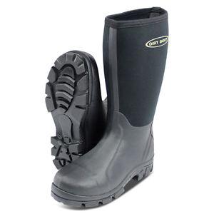 Dirt boot neoprene wellington muck field fishing boots for Women s ice fishing boots