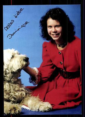 Unsicher Befangen Selbstbewusst Gehemmt Verlegen Dominique Autogrammkarte Original Signiert ## Bc 43092