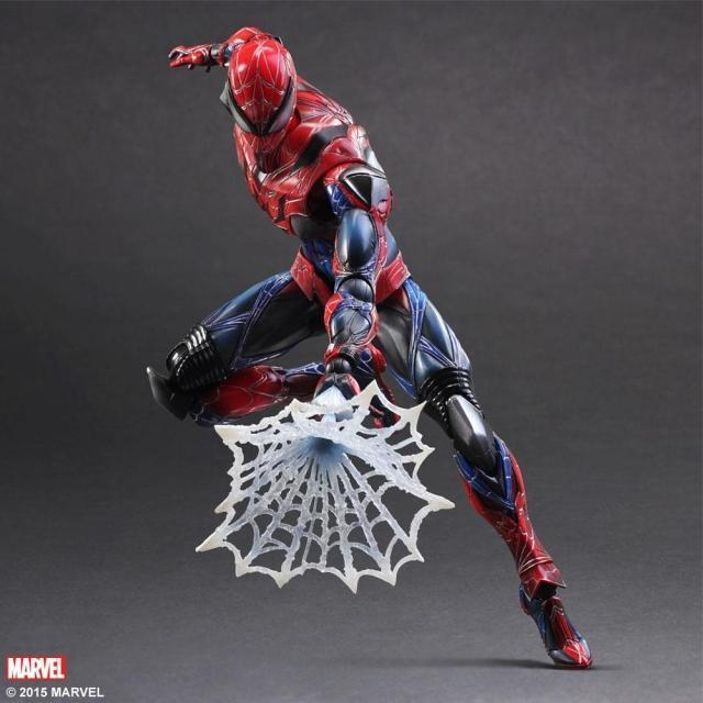 Play Arts Kai - Spider Man  Marvel Universe