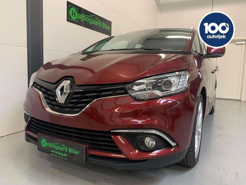 Renault Grand Scenic IV 1,5 dCi 110 Zen 7prs 5d - 229.800 kr.