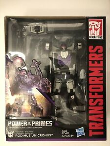 Transformers Leader Rodimus Unicronus Powers Of Primes! Hasbro Usa Evolution 630509662739
