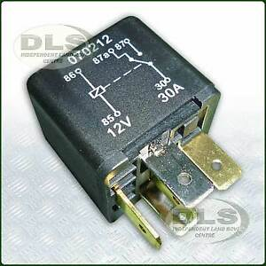Multi-purpose 5 Pin Relay replaces Green one Land Rover Def,Disco,RR ...