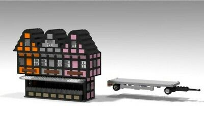 Lego® Kirmes Zirkus Bude
