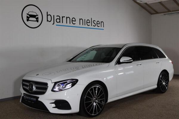 Mercedes E350 d 3,0 AMG Line stc. aut. billede 0