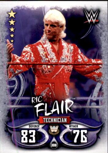 Topps Slam Attax Live Ric Flair Karte 309 Legends