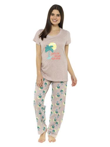 """/""""toujours Chase the sun/"""" 2 pièces pyjama Set 1170 Nightwear à manches courtes tenues de détente"""
