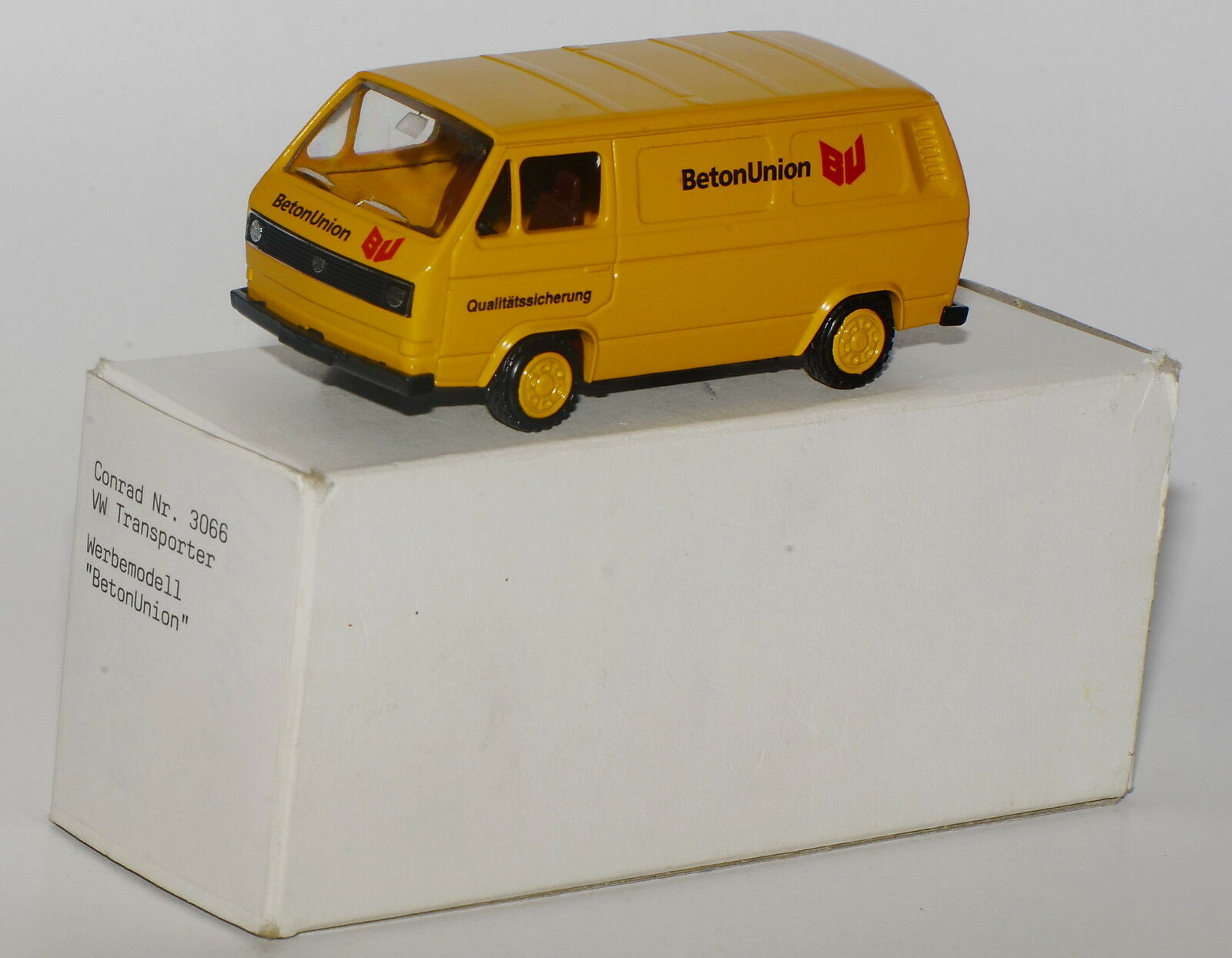 Conrad Scale 1 43 - Werbemodell - VW T3 Transporter  Beton-Union  in OVP-mint  2  | Outlet