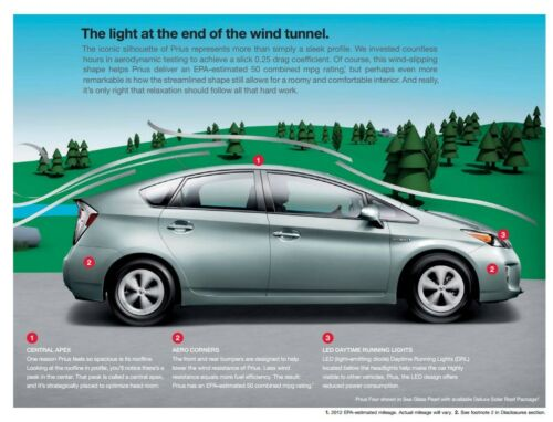 2013 Toyota Prius 20-page Sales Brochure Catalog hybrid car