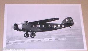 Carte-Postale-Aviation-Avion-BERNARD-190-T