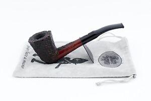 Pfeife pipes pipe MASTRO GEPPETTO artigianale radica rustica briar Italy PMSR004