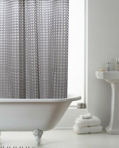 Image Is Loading Country Club 3D Smoke Grey Shower Curtain Modern