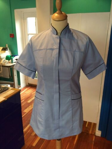 Sky Blue//Navy Nursing,Beauty,Healthcare,Spa Ladies Healthcare Tunic