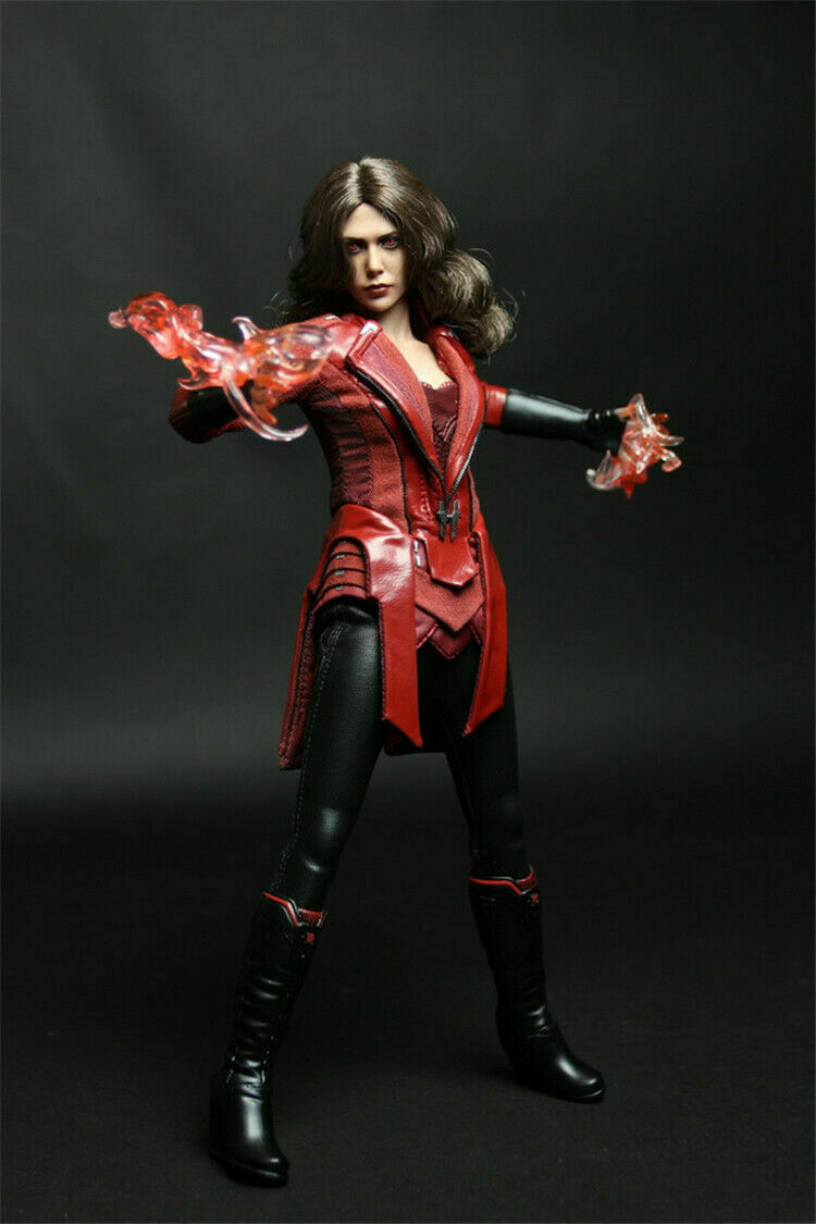 1 6 12  The Avengers Scarlet Witch Figures Doll Clothes  Clothing Model Suit