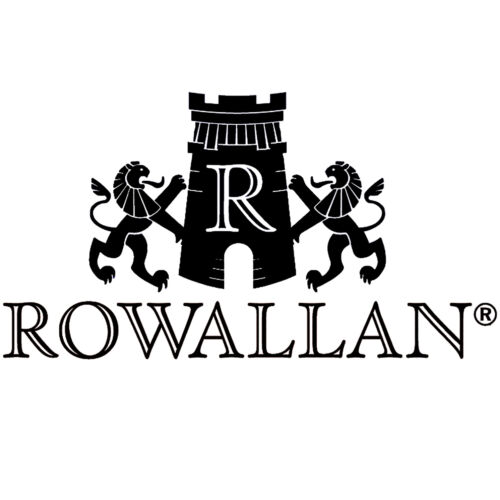 Rowallan Small Black Cossack Coin Purse in Calf Leather with Gift Box