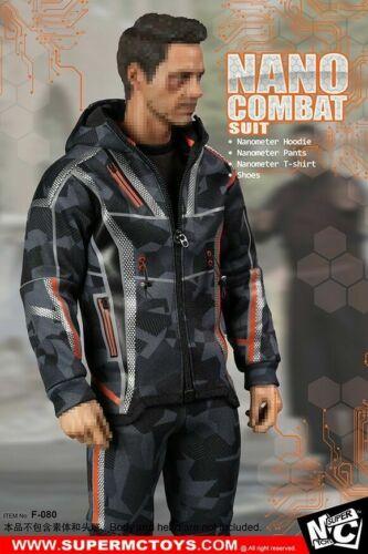 """SUPERMCTOYS 1:6 Tony Nano Combat Suit Clothes Set Avengers 3 F 12/"""" Male Figure"""