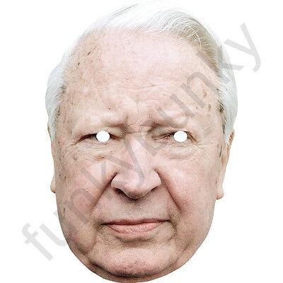 Ted Heath Politician Political Card Mask All Our Masks Are Pre-Cut!