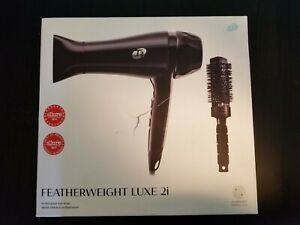 T3 Featherweight Luxe 2i Professional Hair Dryer Black Color with Brush