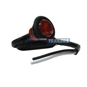 1x-LED-Autolamps-181RME-round-red-trailer-rear-marker-light-12v-24v