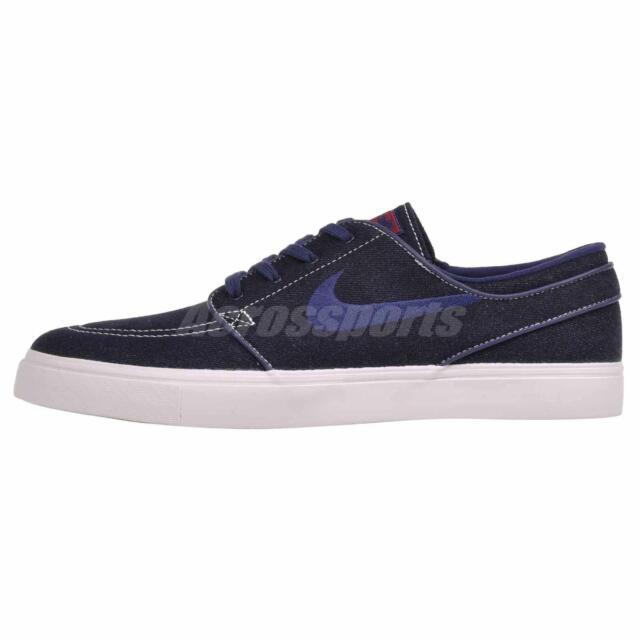 Pef Joya entusiasmo  Nike Zoom Stefan Janoski CNVS Skate Boarding SB Shoes Blue 615957-449 for  sale online