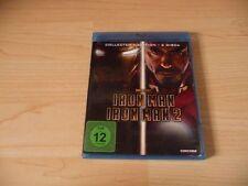 Doppel Blu Ray Iron Man 1 + 2 - Robert Downey Jr. & Gwyneth Paltrow - Collectors