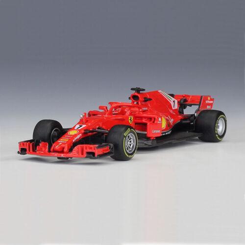 2018 Furmula One Ferrari Team #7 SF-71H Kimi Räikkönen Car Model Collection 1:43
